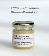 Gelee Royale Bienen Königinnen Futter - Saft 50g Gläschen 100% naturrein !
