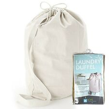 Home Collections™ Solid Non Woven Laundry Duffel Bag - Make Laundry Comfortable!
