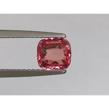 Natural Unheated Padparadscha Sapphire Orange pink color Cushion shape 1.13 cts