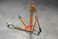 BURSIG Motorcycle Original Center-Lift Stand Paddock Track Garage Orange KTM BMW