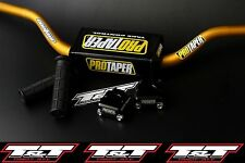 Pro taper contour handlebar clamps grips suzuki ltr 450 fat bar clamp mid gld