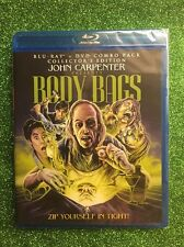 Body Bags (Blu-ray/DVD, 2013, Collector's Edition) NEW, Sealed; Shout Factory