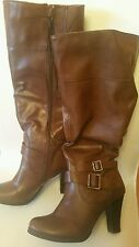 Style & Co. boot size 5.5 brown nice & cheap!