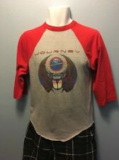Vintage 1981 Journey Escape Tour Men's Medium 3/4 Sleeve T Shirt  No Holes