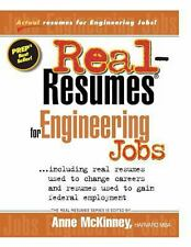 Real-Resumes for Engineering Jobs by Anne McKinney (2012, Paperback)