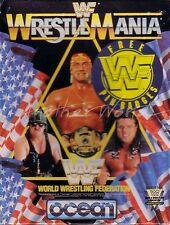 WWF Wrestlemania (Ocean 1991) Amstrad CPC Game - Small Box - GC & Complete