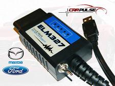 ELM327 USB PIC18F248 FTDI  Elmconfig Ford Mazda MS-HS CAN OBD2 FORScan 500 kbps