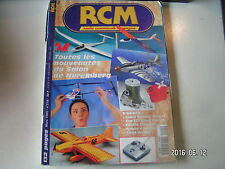 ** RCM n°215 Plan encarté Gee Bee R1 / Katana Graupner / Twist JR New Power