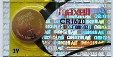 CR 1620 MAXELL LITHIUM BATTERIES 3V Watch 1620 New Authorized Seller