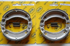 FRONT REAR BRAKE SHOES+SPRINGS YAMAHA YFM 80 125, 92-04 YFM80 Badger YFA1 Breeze