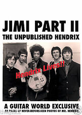Jimi Hendrix The Who RARE COLLECTIBLE - FINE ART PAPER Print edition