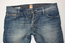 Neu - Hugo Boss - Orange 35 Air -  W33 L34 - Regular Straight Jeans - 33/34