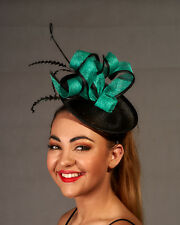 Green / Black Fascinator - BNWT - Perfect for the Races