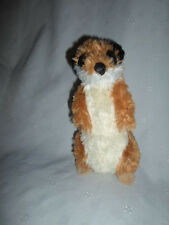 "The Petting Zoo Meerkat Ground Hog 9""  Plush Soft Toy Stuffed Animal"