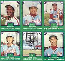 1984 Rochester Red Wings Team Set