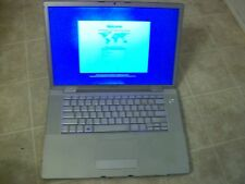 "MacBook Pro A1260 15"" Core 2 Duo 2.4GHz 4GB RAM 200GB HDD - FOR PARTS - AS IS"