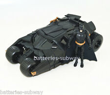 New in Box DC Batman Car Dark Knight Batmobile Tumbler Vehicle Toy with Figure