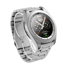 G6 Sport Fitness Tracker Smart Bluetooth Watch for Android iOS Steel Band Silver