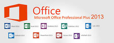 Microsoft Office Professional Plus 2013 5 User Key Download link Online Delivery