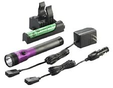 Streamlight 75482 Purple Stinger LED HL AC/DC with Piggyback Charger 640 Lum