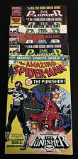 The Punisher Complete #1-5 Set  PLUS 1st Appearance -The Amazing Spider-Man #129