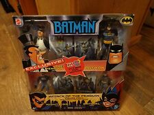 2003 MATTEL--BATMAN ATTACK OF THE PENGUIN FIGURE PACK (NEW) EXCLUSIVE