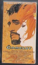 NEW VHS! CAMELOT Richard Harris Vanessa Redgrave Franco Nero David Hemmings