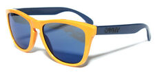 OAKLEY 9013 FROGSKINS 24-362 AQUATIQUE DROP HOFF BLUE IRIDIUM SUNGLASSES GIALLO