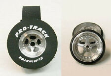"Pro Track ""Star"" 1 3/16"" x .435 Rear & Front Drag 1/24 Slot Car Tires"