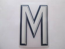 letter M England Away Football Shirt name set Sporting ID Player Size