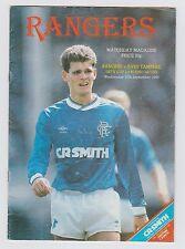 Orig.PRG   UEFA Cup 1986/87   GLASGOW RANGERS - ILVES TAMPERE  !!  SELTEN