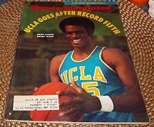 Sports Illustrated  November 30 1970  Sidney Wicks  College Basketball Preview
