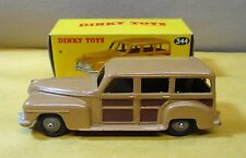 VINTAGE DINKY TOY # 344 ESTATE CAR/STATION WAGON 27F W/ORIGINAL BOX-MECCANO LTD.