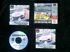 JEU Sony PLAYSTATION PS1 PS2 : NEED FOR SPEED PORSCHE 2000 (complet, env. suivi)