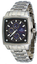 Casio Edifice EF331SB-2AV Men's Solar Powered Multi Function Blue Dial Watch