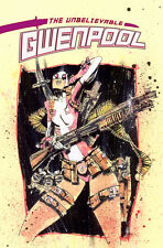 The Unbelievable Gwenpool #1 Rare Jim Mahfood Fried Pie Exclusive Variant NM/NM+