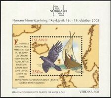 Iceland 2003 Nordia '03/Raven/Sailing Ship/Map/StampEx/Transport 1v m/s (s3812)