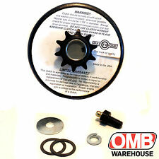 "Max Torque Max-Lube System Clutch 10 Tooth 3/4"" Bore #40/41 Chain For Go Kart"
