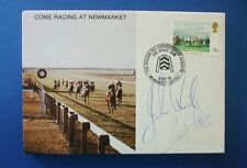 1979 WILLIAM HILL HANDICAP FIRST DAY COVER SIGNED BY JOHN RICH AND PAUL COOK