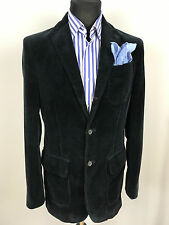 Ralph Lauren Polo classic corduroy blazer/jacket, navy, Sz S, superb condition