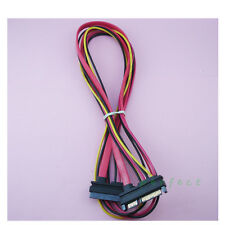 15+7 22 Pin SATA Male to Female M/F Extension Cable for SATA HDD 1 m / 3.2 ft