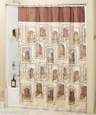 Linda Spivey Country Lodge Rustic Outhouse Shower Curtain Whimsical Bath Decor