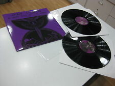 PINK FLOYD 2 LP A DARK SIDE OF THE MOON LIVE RARE PURPLE COVER 16/11/1974 LONDON