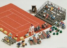 BUSCH HO scale - MINI-GRANDSTAND AND SEATING - plastic model kit #1142
