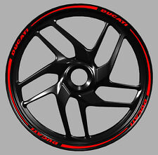 Adesivi cerchi moto Ducati Monster 1199 1198 899 848 wheel strip sticker