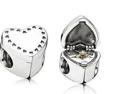 AUTHENTIC PANDORA GIFT FROM THE HEART CHARM #791247CZ BRAND NEW LOVE SAVE$ F/SH