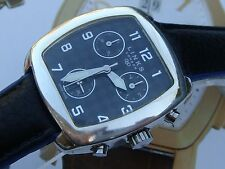 Links of London designer Solid Silver mens chronograph watch & new strap exlnt