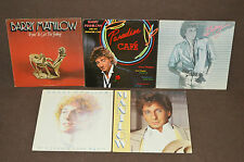 BARRY MANILOW 5 LP RECORD ALBUM LOT COLLECTION Paradise Cafe/Get The Feeling+