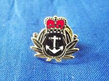 ROYAL NAVY CAP BADGE LAPEL PIN ( CROWN AND ANCHOR )
