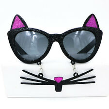 Lovely cat Sunglasses,,Funny party glasses
